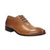 Brązowe oksfordy ze skóry bata, brązowy, 824-3643 - 13