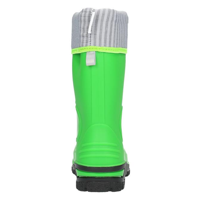 Zielone kalosze dziecięce mini-b, zielony, 292-7200 - 17