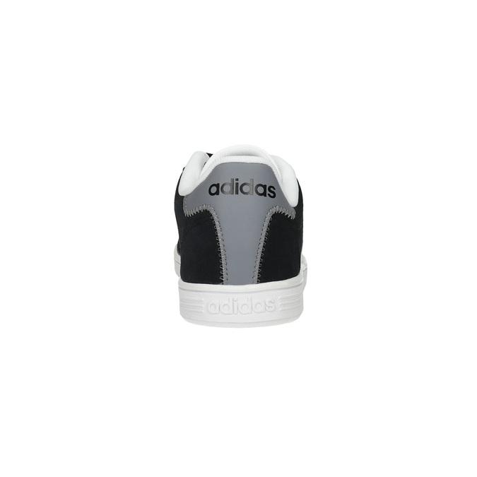 Męskie skórzane buty sportowe adidas, czarny, 803-6132 - 17
