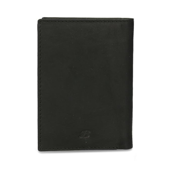 Skórzane etui na karty bata, czarny, 944-6158 - 26