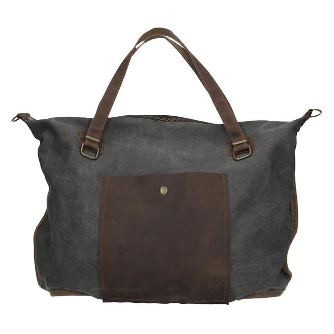 Duża torba z paskiem weinbrenner, szary, 969-2620 - 26