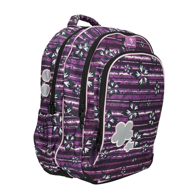 Fioletowy plecak szkolny belmil, fioletowy, 969-5628 - 13