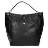 Czarna torba w stylu Hobo bata, czarny, 961-6808 - 19