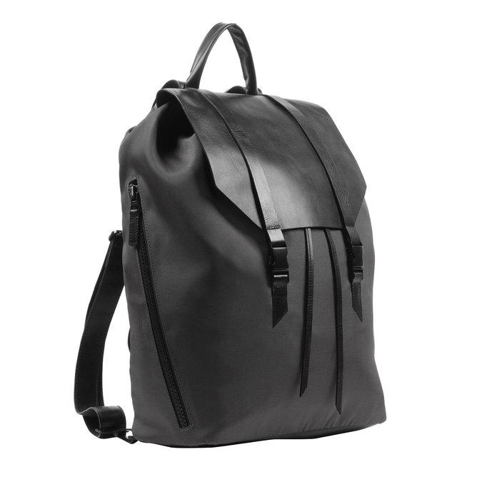 Czarny plecak royal-republiq, czarny, 964-6208 - 13