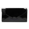 Czarna lakierowana kopertówka damska bata, czarny, 961-6624 - 19