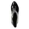 Lakierowane botki bata, czarny, 691-6630 - 26