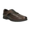 Skórzane półbuty na co dzień bata, brązowy, 826-4652 - 13