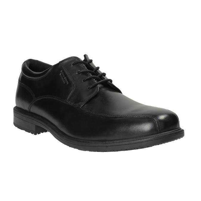 Czarne półbuty męskie rockport, czarny, 824-6106 - 13