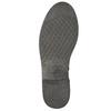 Skórzane botki kowbojki bata, brązowy, 594-4611 - 19