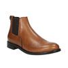 Chelsea boots damskie ze skóry bata, brązowy, 594-3902 - 13