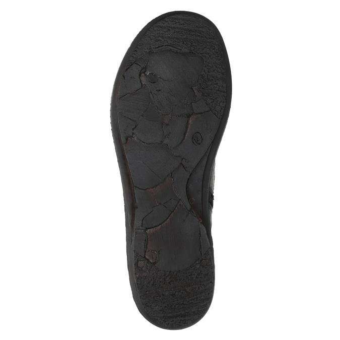 Damskie botki bata, niebieski, 526-9602 - 26