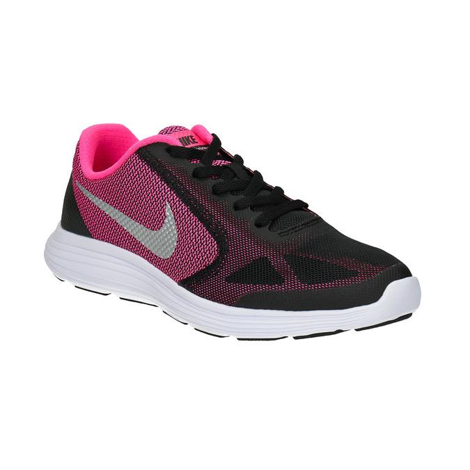 Dziewczęce buty sportowe marki Nike nike, czarny, 409-6322 - 13