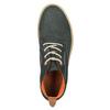 Męskie skórzane buty Chukka Boots weinbrenner, niebieski, 846-9629 - 19