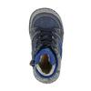 Ocieplane buty dziecięce ze skóry bubblegummer, niebieski, 116-9102 - 19