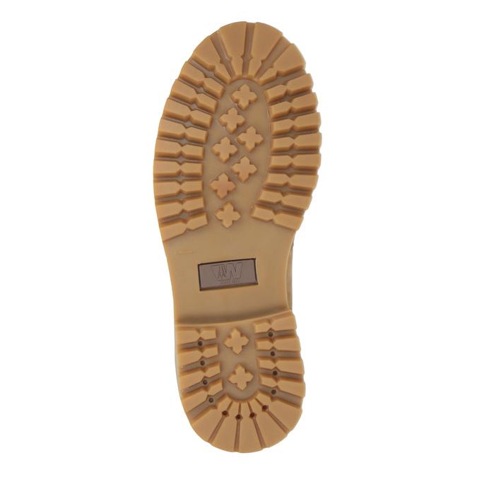 Skórzane buty damskie weinbrenner, brązowy, 596-8629 - 26