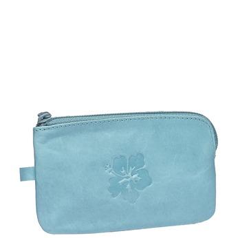 Skórzany portfel bata, niebieski, 944-9161 - 13