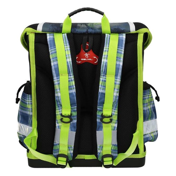 Plecak szkolny dla dzieci, zelementami odblaskowymi belmil, 969-9626 - 19