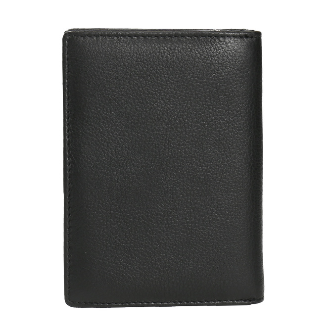Skórzany portfel damski bata, czarny, 944-6163 - 19