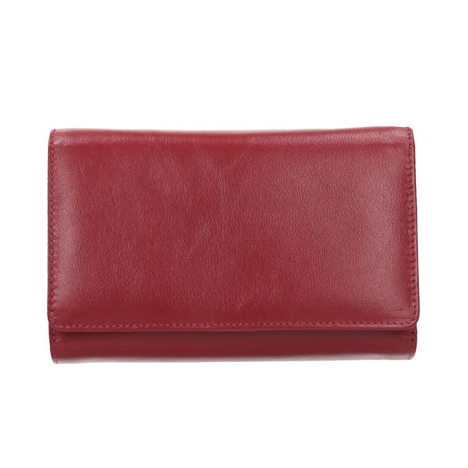 Skórzany portfel damski bata, czerwony, 944-5168 - 26