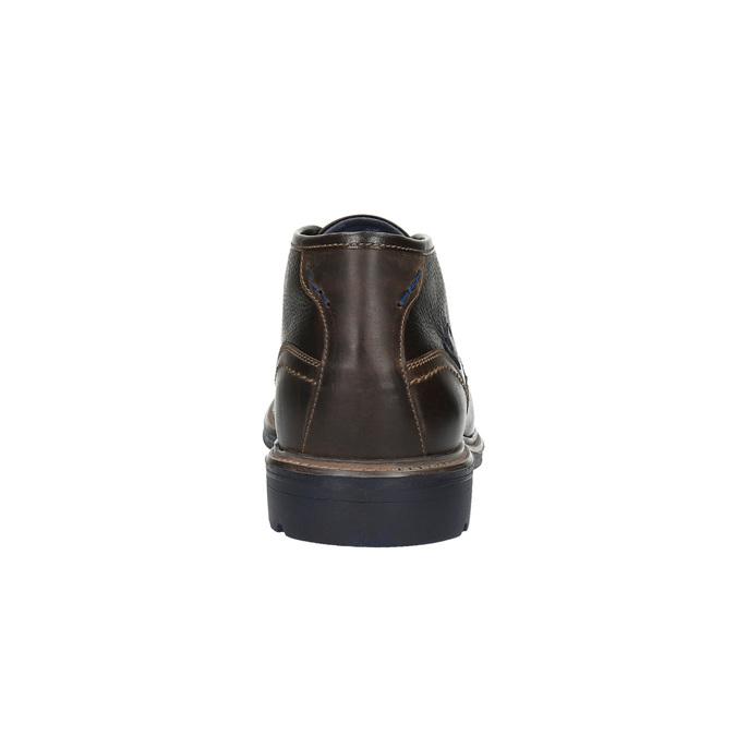 Skórzane buty w stylu Chukka Boots bata, brązowy, 824-4701 - 17