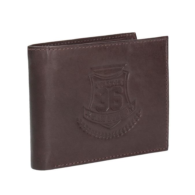 Skórzany portfel męski bata, brązowy, 944-4171 - 13