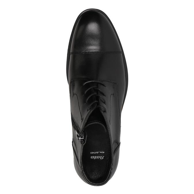 Męskie buty do kostki bata, czarny, 894-6671 - 19