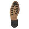 Skórzane buty męskie za kostkę bata, czarny, 894-6660 - 26