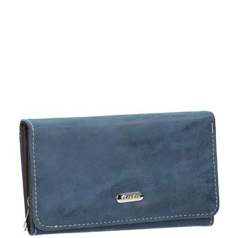Niebieski portfel damski bata, niebieski, 941-9153 - 13