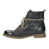 Ocieplane botki ze skóry bata, czarny, 594-6610 - 26
