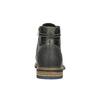Skórzane buty męskie za kostkę bata, szary, 894-2621 - 17