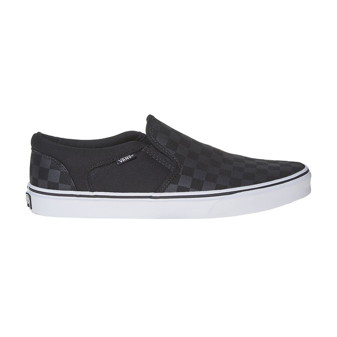 Męskie buty Slip on vans, czarny, 889-6309 - 15