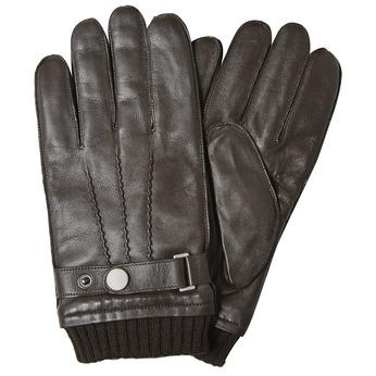 Skórzane rękawiczki męskie bata, brązowy, 904-4127 - 13