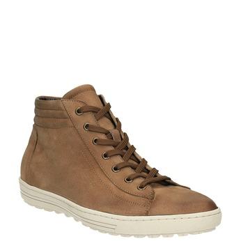 Trampki damskie za kostkę bata, brązowy, 594-8659 - 13