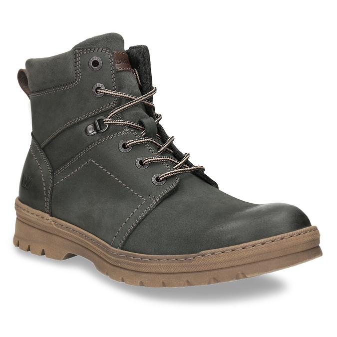 Męskie buty zimowe weinbrenner, szary, 896-2109 - 13