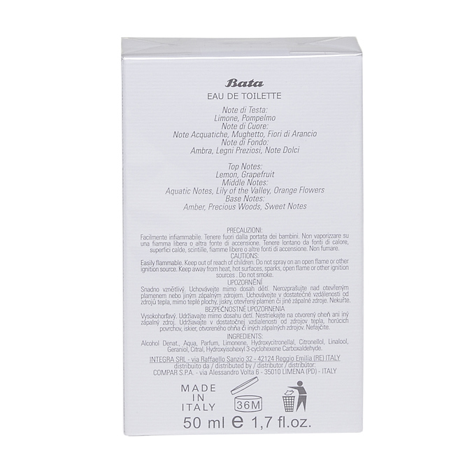 Woda toaletowa unisex bata, multi color, 900-0201 - 26