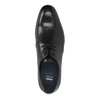 Czarne półbuty ze skóry bata, czarny, 824-6754 - 19