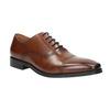 Brązowe skórzane półbuty typu oksfordy bata, brązowy, 826-3810 - 13