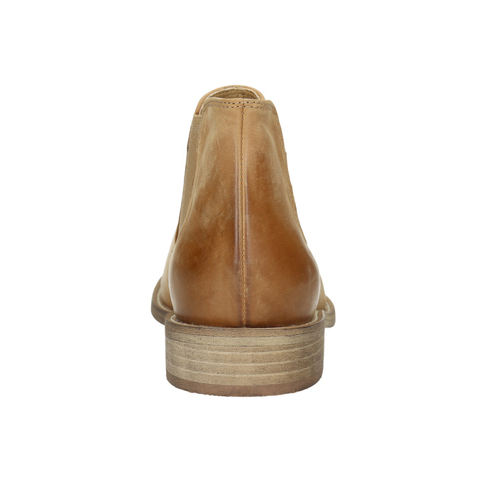 Skórzane buty Chelsea Boots bata, brązowy, 594-3432 - 17