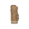Wiosenne botki zperforacją bata, brązowy, 691-4632 - 17