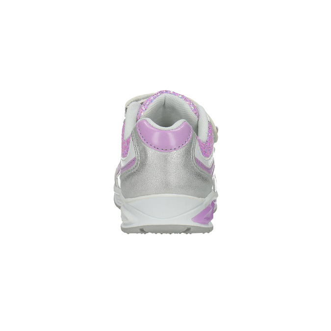 Dziecięce buty sportowe z brokatem mini-b, szary, 221-2603 - 17