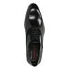 Czarne skórzane półbuty typu oksfordy conhpol, czarny, 824-6887 - 19