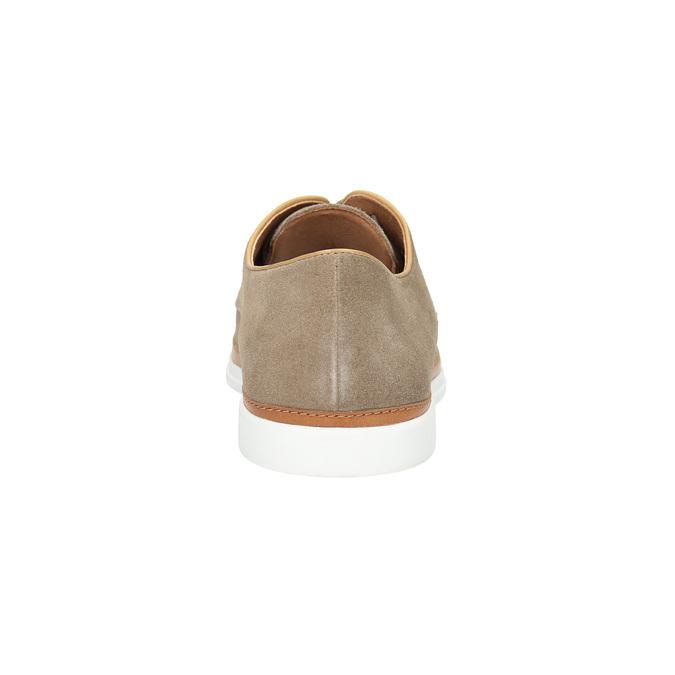 Nieformalne półbuty ze skóry bata, beżowy, 843-8623 - 17