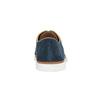 Nieformalne półbuty ze skóry bata, niebieski, 843-9623 - 17