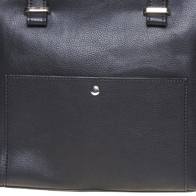 Elegancka torba damska bata, czarny, 961-6278 - 17