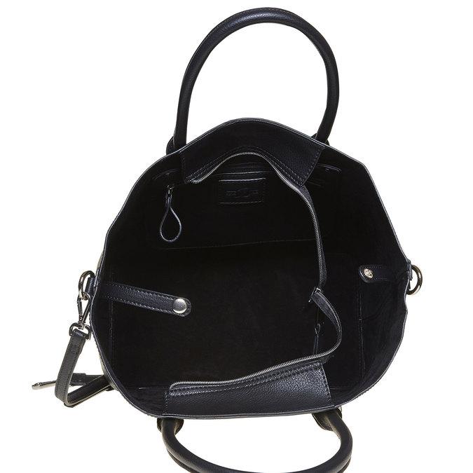 Elegancka torba damska bata, czarny, 961-6278 - 15