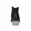 Czarne skórzane botki bata, czarny, 596-6633 - 17