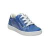 Dziecięce skórzane buty sportowe mini-b, niebieski, 226-9600 - 13