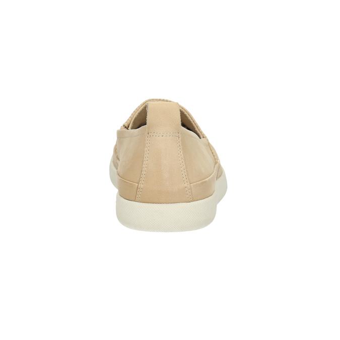 Lekkie damskie wsuwane buty bata, beżowy, 516-8601 - 17