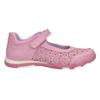 Różowe baleriny dziewczęce zpaskiem na podbiciu bubblegummer, różowy, 321-5603 - 15
