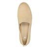 Lekkie damskie wsuwane buty bata, beżowy, 516-8601 - 19